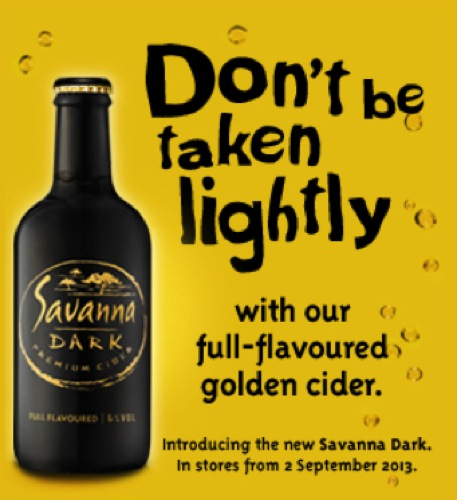 RealNew Dark Apple Cider Savanna Cider South Africa