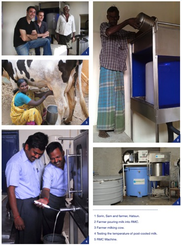 Chilling Milk Directly From the Cow for India s Dairy Farmers Modern Farmer