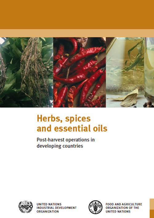 Cover of the Herbs, Spices and Essential Oils Manual