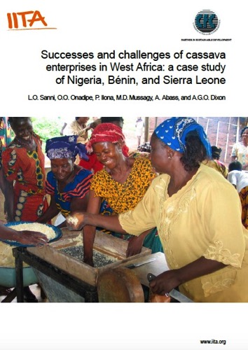 IITA report on Cassava enterprises in West Africa